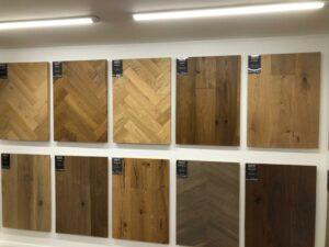 Large Range of Herringbone Laminate flooring